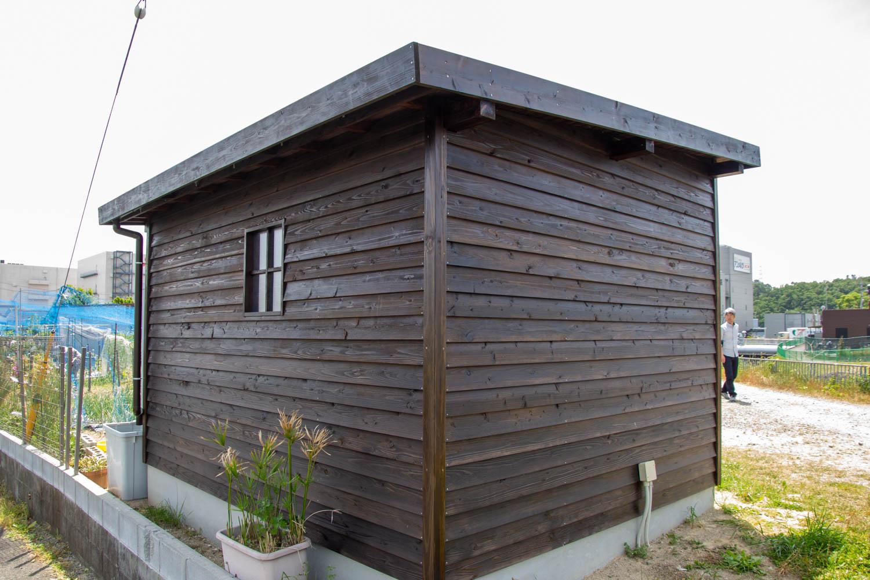 農作業のための小屋