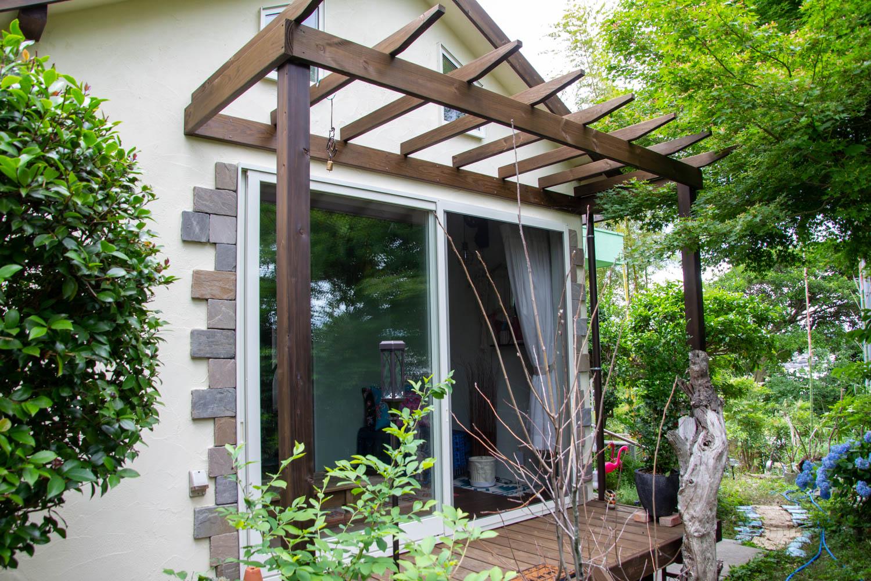 小屋を利用した増築リノベーション